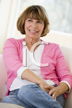 Royalty Free Photo of a Woman at Home