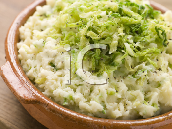Royalty Free Photo of Dish of Colcannon