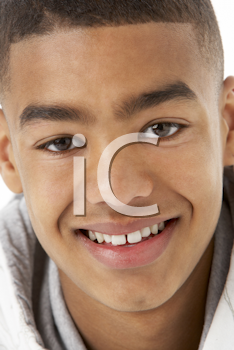 Royalty Free Photo of an African American Boy