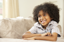 Royalty Free Photo of a Little African American Boy