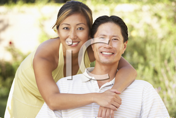 Royalty Free Photo of an Asian Couple