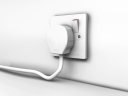 Royalty Free Clipart Image of a Plug Socket