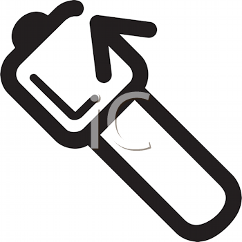 Royalty Free Clipart Image of a Medical Hammer