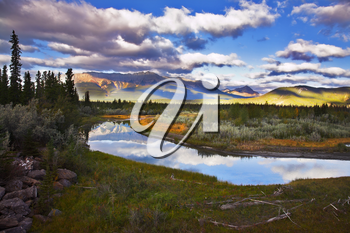 Royalty Free Photo of the Rocky Mountains