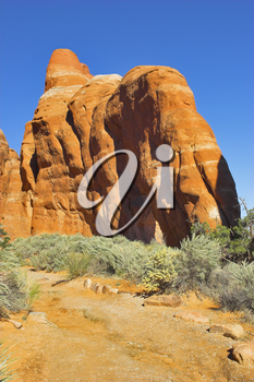 Royalty Free Photo of Arches in a National Park