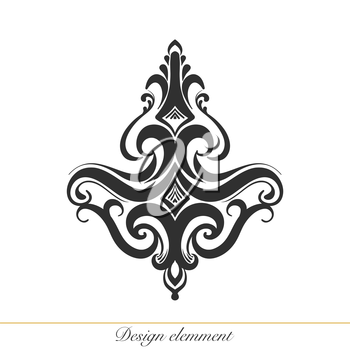 Royalty Free Clipart Image of a Decorative Element