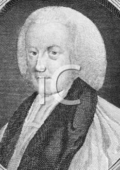 Royalty Free Photo of Richard Hurd (1720-1808) on engraving from the 1700s. English writer and bishop of Worcester.