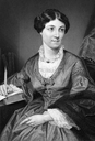 Harriet Martineau (1802-1876) on engraving from 1873. English social theorist and Whig writer. Engraved after a painting by A.Chappel and published in