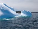 Royalty Free Photo of an Atlantic Ocean Iceberg