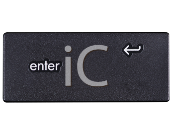 Royalty Free Photo of the Enter Key