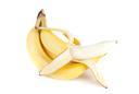 banana bunch on a white background