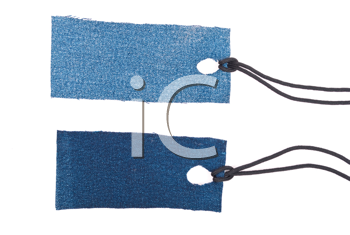 Royalty Free Photo of Jean Tags
