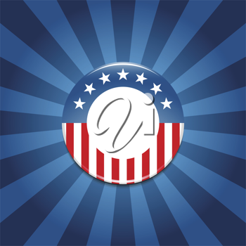 Royalty Free Clipart Image of an Election Campaign Background