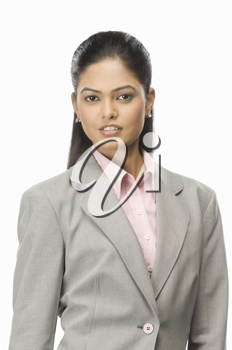 Portrait of a businesswoman posing