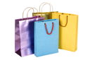 Close-up of shopping bags