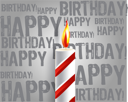 Royalty Free Clipart Image of a Happy Birthday Background