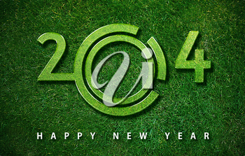 Happy new year 2014, with ecology concept for 2014 year, the same concept available for 2015, 2016 and 2017 year.
