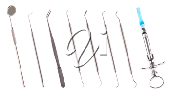 Royalty Free Photo of Dental Surgery Instruments