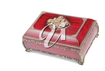 Royalty Free Photo of a Red Chest