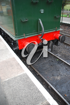Royalty Free Photo of an Antique Steam Train