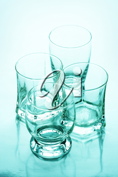 Royalty Free Photo of Four Glasses