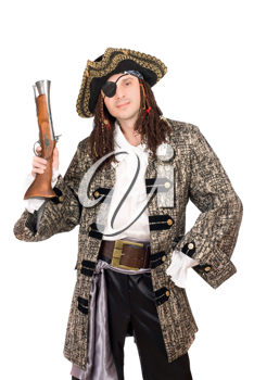Royalty Free Photo of a Pirate