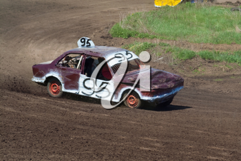 Royalty Free Photo of a Race Car