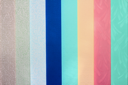 Royalty Free Photo of Pieces of Fabric