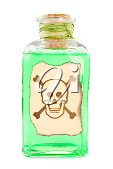 Royalty Free Photo of a Green Chemical Solution