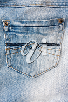 Royalty Free Photo of Pair of Jeans