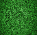 Artificial grass on the football field