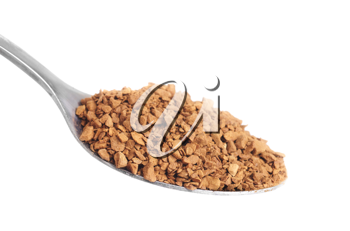 Royalty Free Photo of a Spoonful of Cocoa