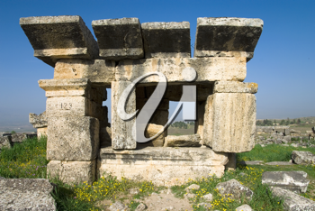 Royalty Free Photo of Ruins in Turkey