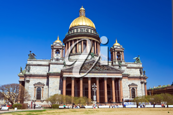 Royalty Free Photo of a Saint Isaac's Cathedral in St Petersburg Russia