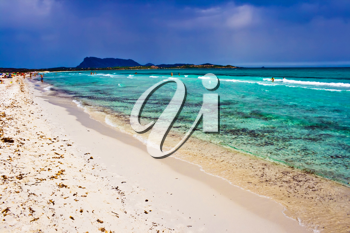 Royalty Free Photo of a Beach in Sardinia