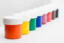 Royalty Free Photo of a Set of Artistic Paints