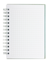 Royalty Free Photo of a Coiled Notepad