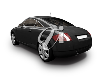 Royalty Free Clipart Image of an Audi