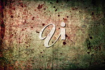 Abstract grunge background: scratches, dirt, rust and spots