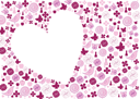 Royalty Free Clipart Image of a Valentine's Background