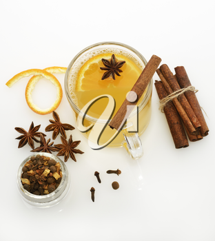 Hot Apple Cider With Spices