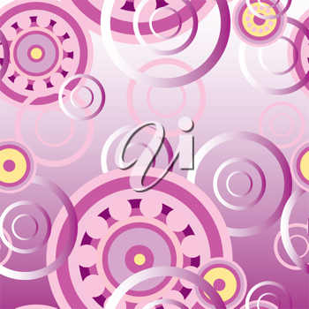 Royalty Free Clipart Image of a Mechanical Background