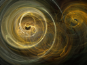 Abstract and futuristic fractal background