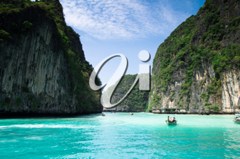 Royalty Free Photo of Boats in the Sea in Thailand