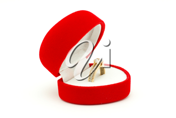 Royalty Free Photo of a Wedding Ring