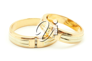 Royalty Free Photo of Gold Wedding Rings