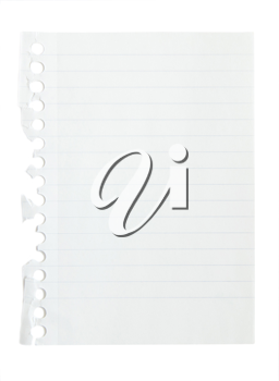 Royalty Free Photo of a Piece of Paper