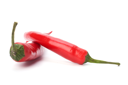 Chili pepper isolated on white background