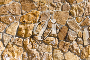 background from mosaic wall with bricks