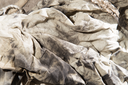dirty rags in oil as background